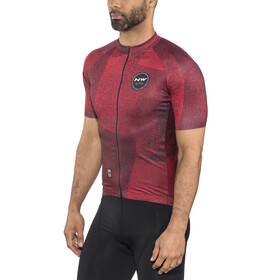 Northwave Abstract SS Jersey Men rust red